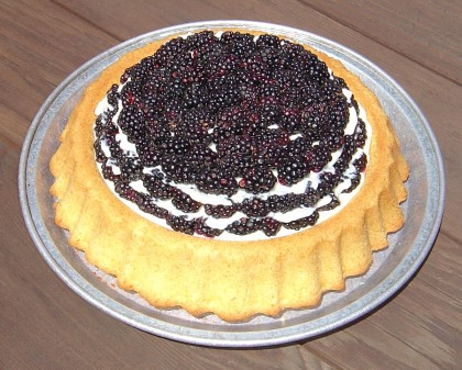 Blackberry Pound Cake Recipe