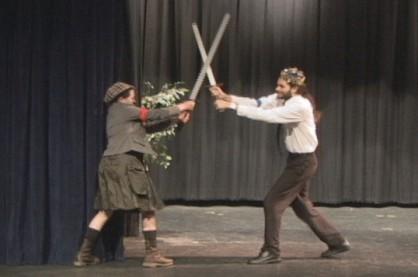 Owen Glendower battles King Henry IV