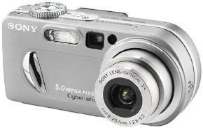 the Sony DSC-P10 camera