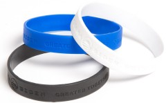 the 2012 Obama-Biden 'Greater Together' wristbands