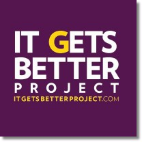 the 'It Gets Better Project logo