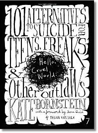 the 'Hello Cruel World' book cover