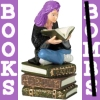 The purple-haired Hermione 'Books not Bombs' image I use as my user/profile icon/picture on some social-networking web sites