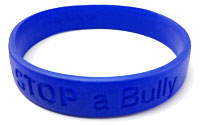 a 'SEE a Bully - STOP a Bully' wristband